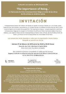 uitnodiging ES